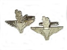 Parachute Regiment Military Cufflinks Silver Colour