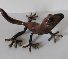 "K. Cantrell ""GENESIS"" 1999 Signed Gecko Sculpture"