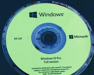 Windows 10 pro 64bitDVD full version + activation key100% EFFECTIVE CODE