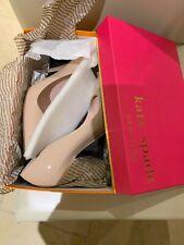 8655e8d96e Size UK 6.5 Genuine Kate Spade Licorice High Heel Powder/ Patent Shoes
