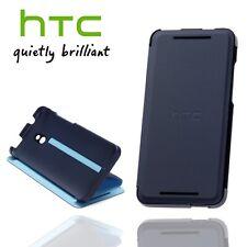Official HTC One M8 Double Dip Flip Case Slim Premium Folio Stand Wallet Cover