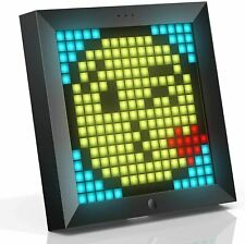 Divoom Pixoo Pixel Art Digital Frame with App Controlled 16X16 LED Screen (simul