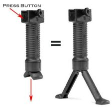 6-9 Inches Tactical Rifle Fixed Bipod for Hunting & Shooting and Outdoor Sports