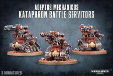 Adeptus Mechanicus Kataphron Battle Servitors - Warhammer 40k - New! 59-14