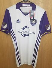 Adidas Orlando City Jersey MLS Authentic Soccer Jersey Mens Sz Small NEW $120*
