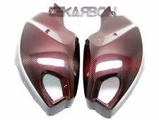 2008 - 2014 Ducati Monster 696 1100 796 Carbon Fiber Side Tank Panels - Red Ed.