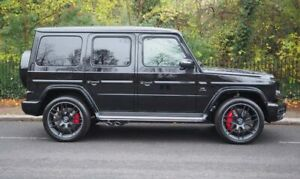 24 inch AFTERMARKET FORGED MESH WHEELS SET - CUSTOM TO FIT MERCEDES AMG G WAGON