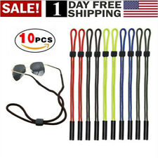 US! 10 Pcs Neck Strap Sport Sunglass Eyeglass Read Glasses Cord Lanyard Holder