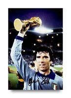 Dino Zoff Signed 6x4 Photo Italy Goalkeeper Juventus Autograph Memorabilia + COA