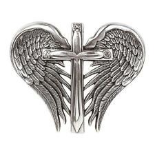 Nocona Western Belt Buckle Womens Cross Silver 37906