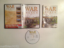 War and Peace PC FR