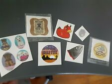 Temporary Tattoos Assorted - 10 - Various Sizes and Themes - New