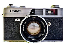 CANON CANONET QL17 35MM CAMERA; For PARTS or REPAIR (Shutter?); Will ship Int'l