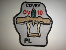 Vietnam War US Air Force OV-10 COVEY PL BRONCO Platoon Patch