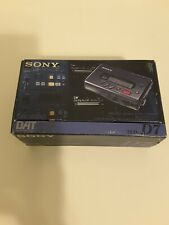 Sony TCD-D7 Walkman DAT Recorder In Original Box. MINT WORKING RARE (No Cord)