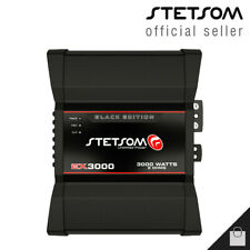 Stetsom EX 3000 EQ Black Edition 2 Ohms Amplifier 3K HD Car Amp - 3 Day Delivery