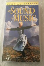 ~ THE SOUND OF MUSIC SPECIAL EDITION ~ VHS ~ G Rated ~ Bonus Footage/Features