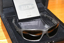 New Authentic OAKLEY 123/250 C SIX Carbon Fiber/Tungsten Irid Polar OO4047-02