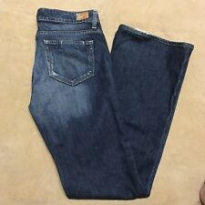 Paige Womens Jeans Premium Denim Hollywood Hills Flare Tag Size 28