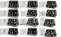ROYAL MINT PROOF SETS BLUE DELUXE 1983 TO 1999 BIRTHDAY PRESENT COIN YEAR SETS