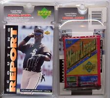Michael Jordan UD Baseball Scouting Report Blister #SR3 16-cd/Pack & Jumbo Card