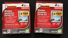 (2 boxes) Frost King Window Insulation Shrink Kit New