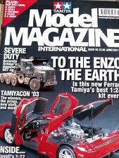 Model Magazine TAMIYA n°98 2003 - Ferrari ENZO - Tr.20