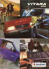 Suzuki Vitara 1997-98 UK Market Brochure 2.0 V6 TD 1.6 Sport Estate Soft Top
