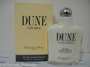 DUNE BY CHRISTIAN DIOR POUR HOMME AFTER SHAVE BALM 3.4 oz / 100 ML