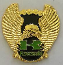 Kawasaki Eagle  --  lapel / hat pin badge.  B010504