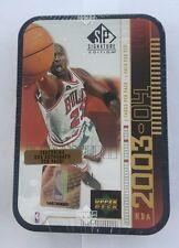 2003-04 Upper Deck SP Signature Edition TIN BOX Jordan MJ Edition Factory Sealed