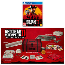 Red Dead Redemption 2 Standard Edition & Collector's Box - PS4 Bundle - UK NEW!
