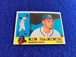 1960 Topps High # 534 Ken MacKenzie NM