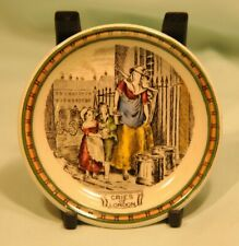 adams pottery minature plate Cries of London in very good condition
