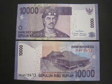 Indonesia P-New 2012 10000 Rupiah (Gem UNC)