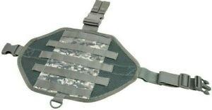 VISM Ambidextrous MOLLE Drop Leg Panel w/ Pocket hunt tactical duty gear ACU DI