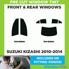Pre Cut Window Tint - Suzuki Kizashi 2010-2014 - Full Kit
