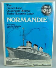 The French Line Quadruple-Screw Trubo-Electric Liner NORMANDIE