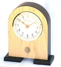 Sheep Ram Pewter Emblem Mantel Clock  Ideal Farming Shepherd Present Gift