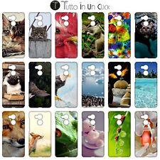 Custodia cover RIGIDA per Huawei Honor 6c Pro -  Design _376_393
