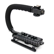 Handheld Action Camera Stabiliser W/ Stereo/Flash Mount For Polaroid XS9 HD