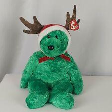 Ty Beanie Buddies Bear 2002  Holiday Teddy