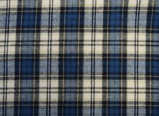 "Cotton Flannel Plaid Tartan Fabric By The Yard # 10 - 60""W"