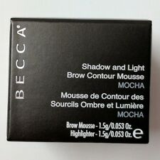 Becca Shadow & Light Brow Contour Mousse - Mocha 0.053 Oz.