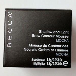Becca Shadow & Light Brow Contour Mousse - Mocha 0.053 Oz.