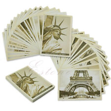 32 Pcs Travel Postcard Vintage Landscape Photo Picture Poster Retro Post Cards