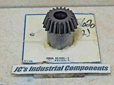 "Steel bevel gear   Martin   BS1020-3   10 pitch    20 teeth   7/8"" bore  20 deg"