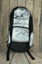 Nike Air Jordan All World Backpack Silver School Carry On Travel Gym 9A1640-250