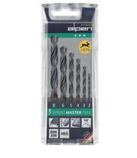 Spiralbohrersatz 2 - 8mm HSS flexibel , 6-teilig , für Stahl, Alu, NE-Metalle
