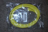 Ethernet Lan High Speed Network Cable Yellow 3ft
